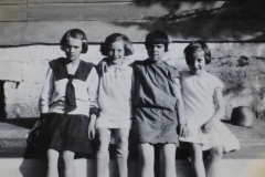 In Russia - Mom second from left