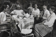 Aunt Erika, Unknown. Father, I, Mother, Uncle Franz and  Grandmother