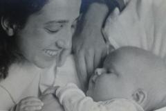 Erika and I 1954