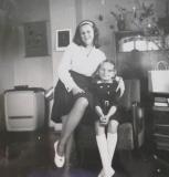 Marianne and I 1962