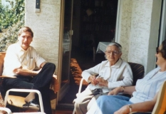 1987 Last Photo of Klaus, Grandmother and Mom