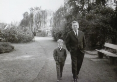 Cousin Horst with son Axel